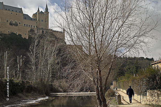 Paseo de la Alameda del Parral (Segovia)
