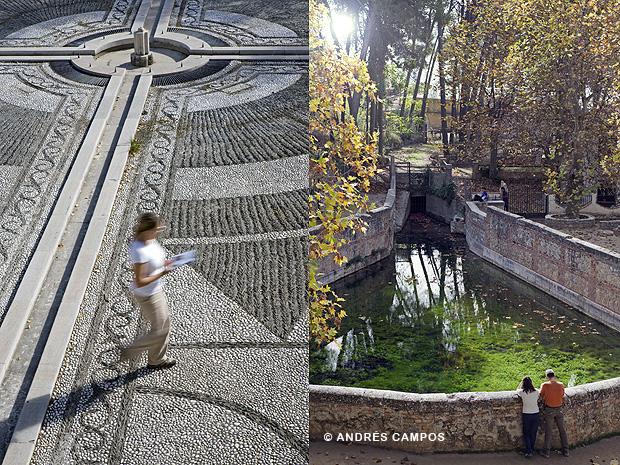 Parque García Lorca y Fuente Grande.