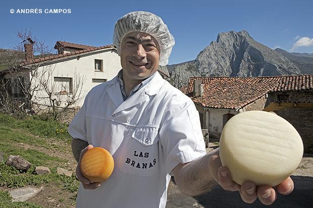Quesería Las Brañas (Pendes, Cantabria)