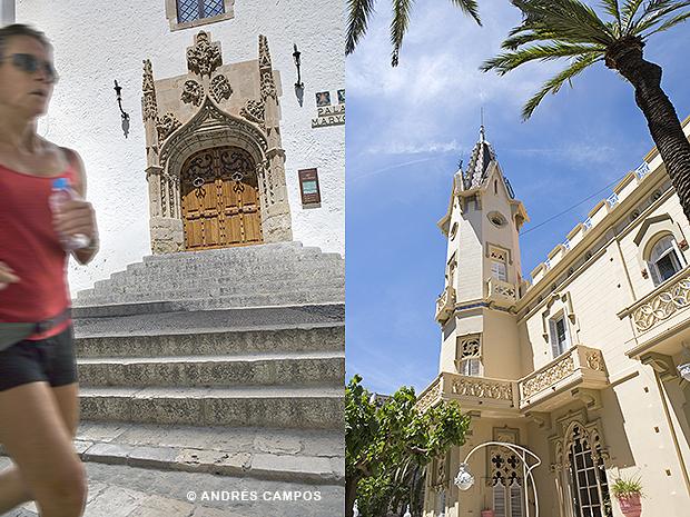 Palau Maricel y hotel El Xalet
