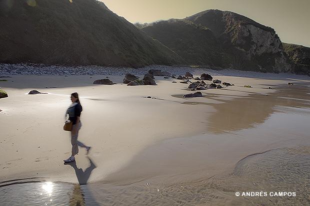 Playa de la Ballota.