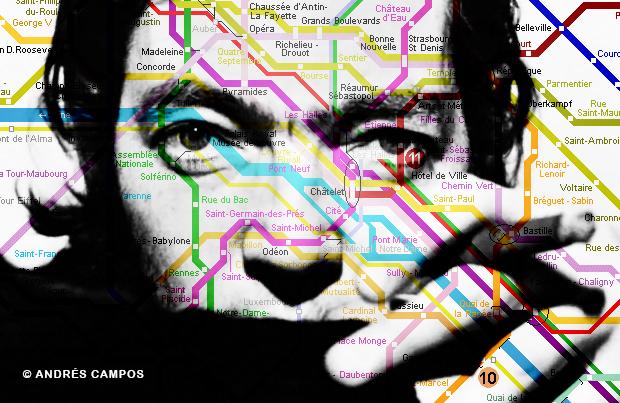 Cortázar y el metro de París