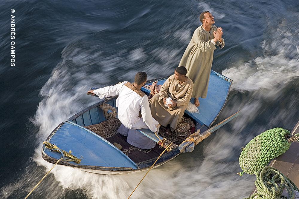 Regateando en el Nilo