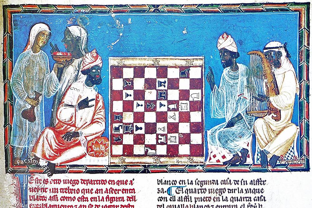 Libro del ajedrez, dados y tablas